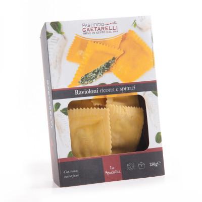 Ricotta and spinach ravioloni