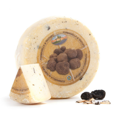 Formagella Tremosine cheese with Truffle