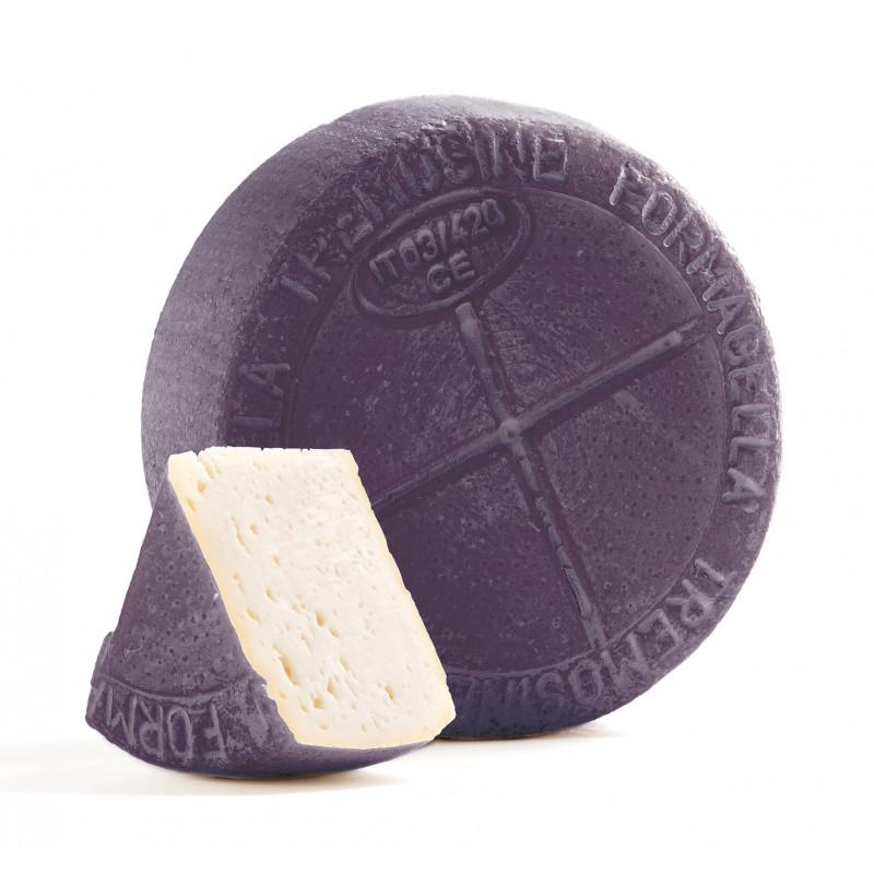 Drunked Formagella Tremosine cheese