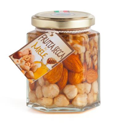 Trockenfrüchte in Honig