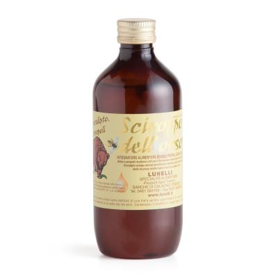 Sciroppo dell'Orso (Honigsirup mit Eibisch, Eukalyptus und Propolis)